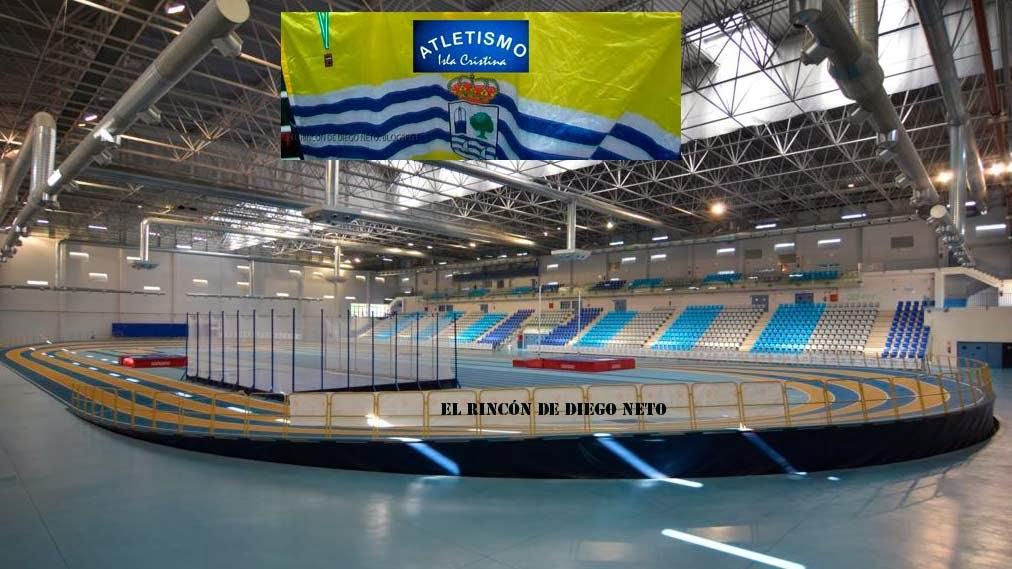 Los Atletas Isleños Compiten en el Campeonato de Andalucia Sub -23 en Antequera