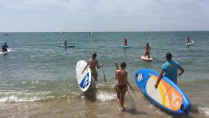 Deporte, y más deporte, en la recta final de agosto en Islantilla