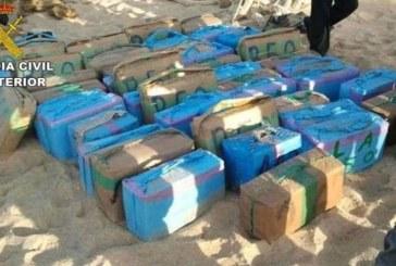 Detenidos durante la descarga de 1.300 kilos de hachís en Isla Cristina