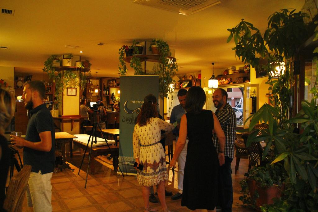 Pub Michel de Islantilla, escenario de la Exposición