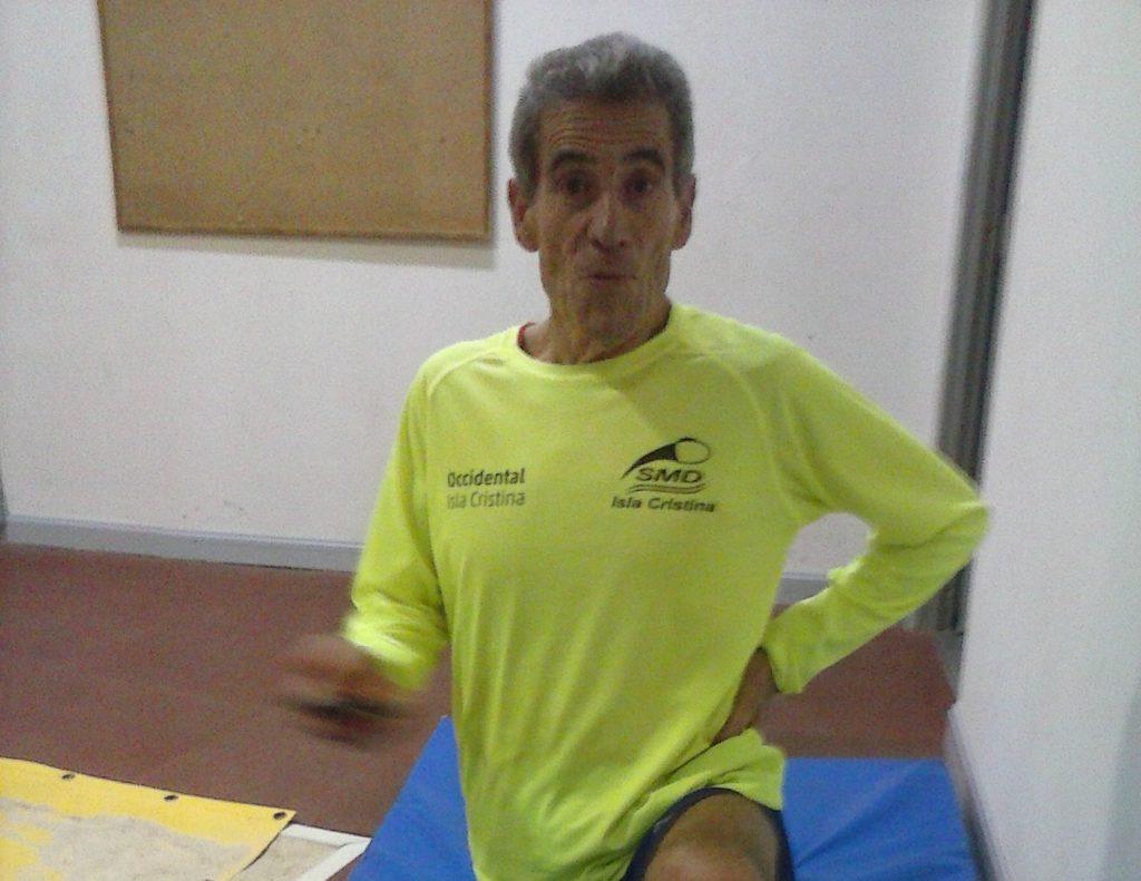 Buena participación isleña en el Campeonato de Andalucía Máster en pista cubierta