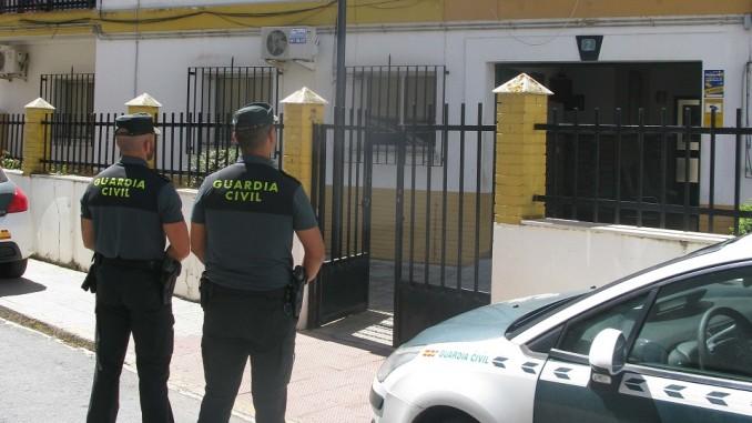 Alerta por Corona-virus en la Guardia Civil de Isla Cristina
