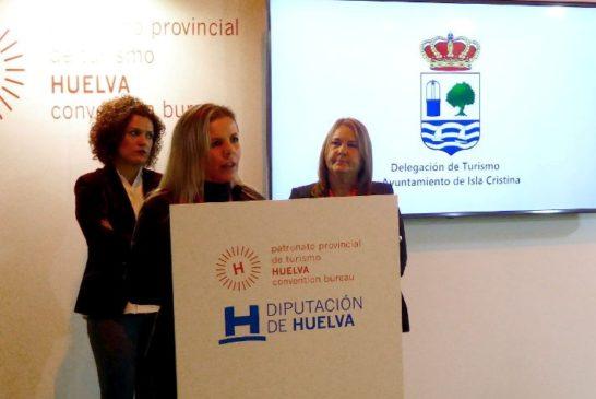 La alcadesa isleña y Delegada de Turismo presentaron las propuestas de Isla Cristina en Fitur