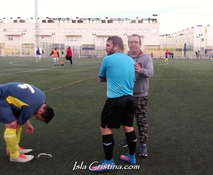 Sigue a buen ritmo la liga laboral de fútbol de Huelva