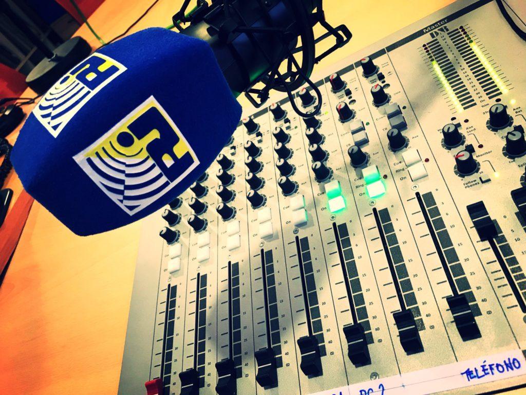 Radio Isla Cristina desde el Teatro Municipal «Horacio Noguera»