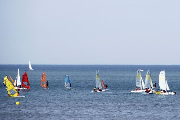 Los deportes náuticos y el ajedrez cierran el verano deportivo en Islantilla