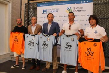 """Diputación entrega material deportivo al equipo """"Isla Saltés"""" del isleño José Peña Contreras"""