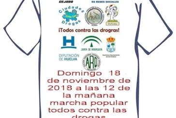 """Isla Cristina acoge la Marcha Popular """"Todos Contra las Drogas"""""""