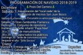 """Programación de Navidad 2018-2019 en """"Pozo Del Camino"""""""