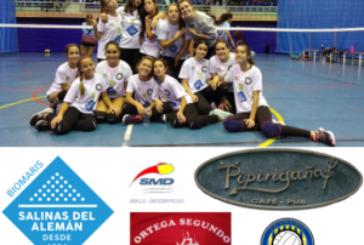 Derrota de las chicas del Voleibol Isla Cristina ante el San Juan