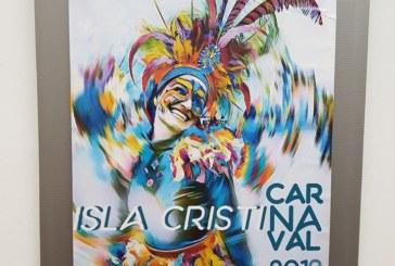 """Expuestas en la Galería de Arte: """"Pintora Charo Olías"""" los Carteles Carnaval 2019"""