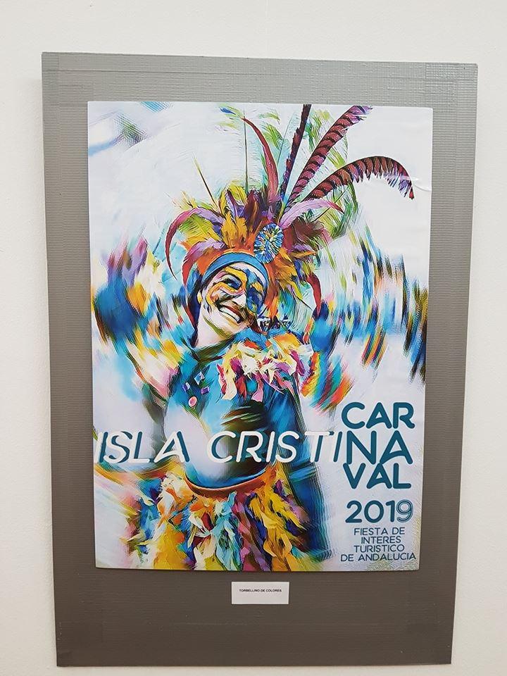 Expuestas en la Galería de Arte: «Pintora Charo Olías» los Carteles Carnaval 2019