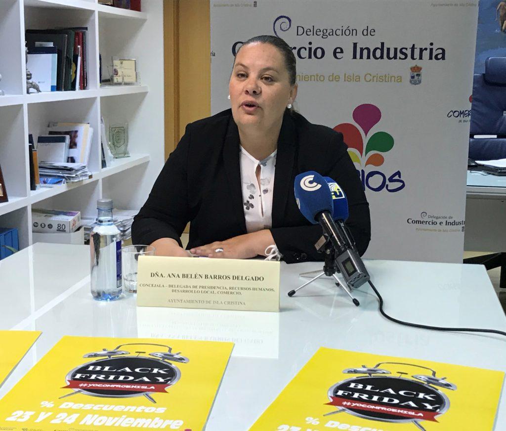 Presentada la Black Friday de Isla Cristina