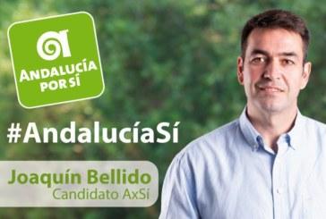 """Joaquín Bellido: """"Andalucía Por Sí romperá el nuevo bipartidismo para construir una nueva Andalucía"""""""