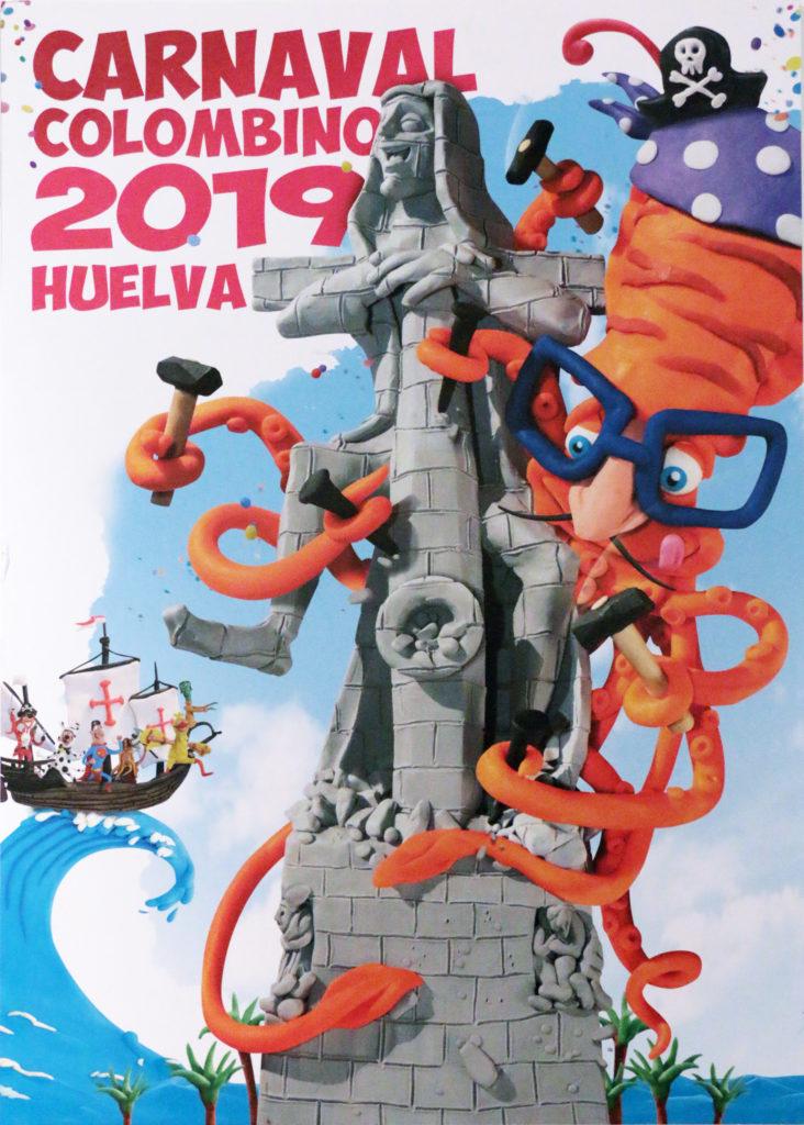 La Travesura Carnavalera de Cristóbal Aguiló, Cartel Oficial del Carnaval Colombino 2019
