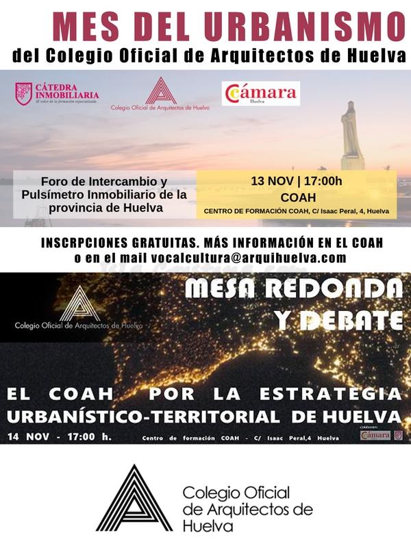 El COAH por la Estrategia Urbanístico – Territorial de Huelva