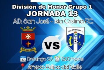 Al Isla Cristina solo le vale la victoria frente al San José