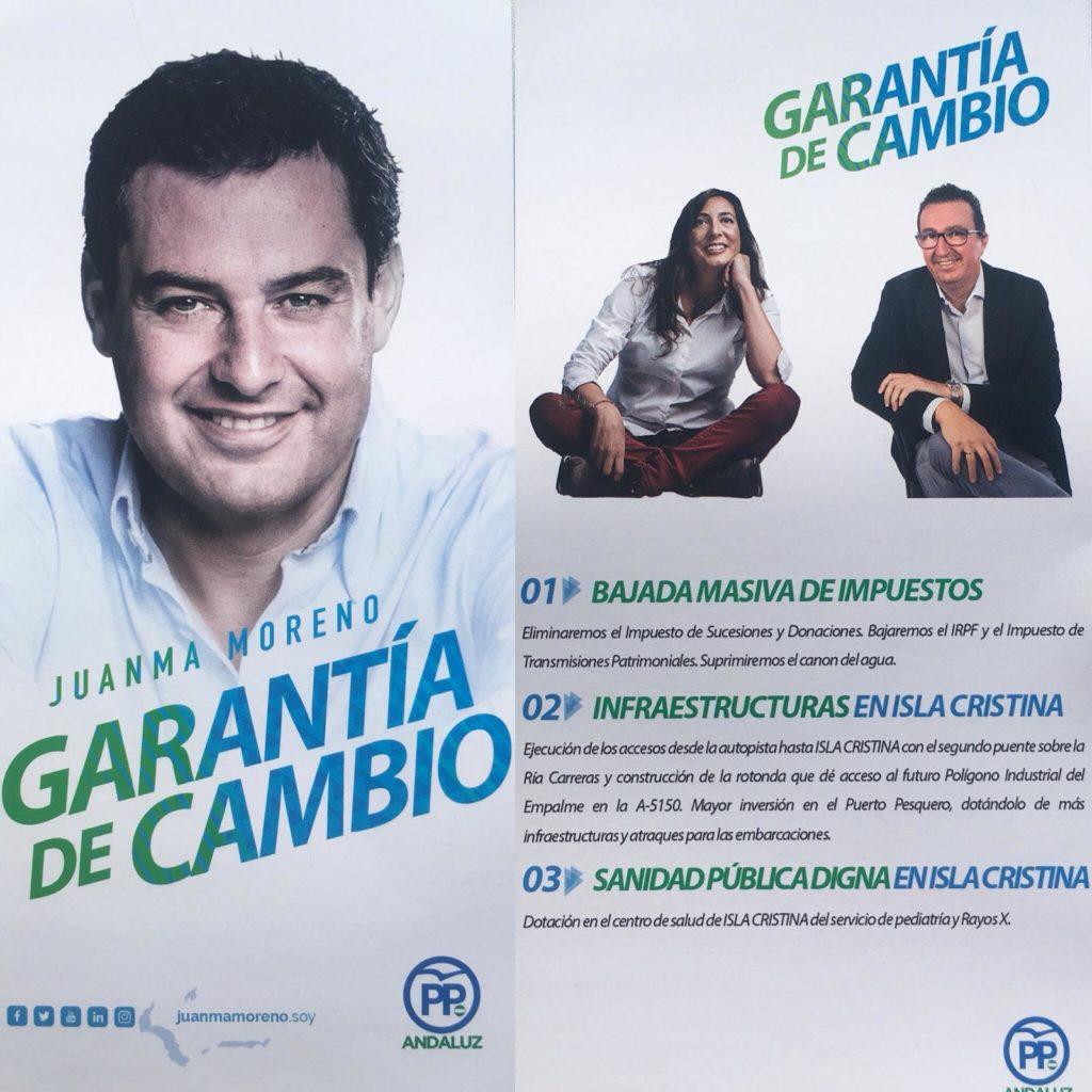 Programa exclusivo y compromiso del PP con Isla Cristina