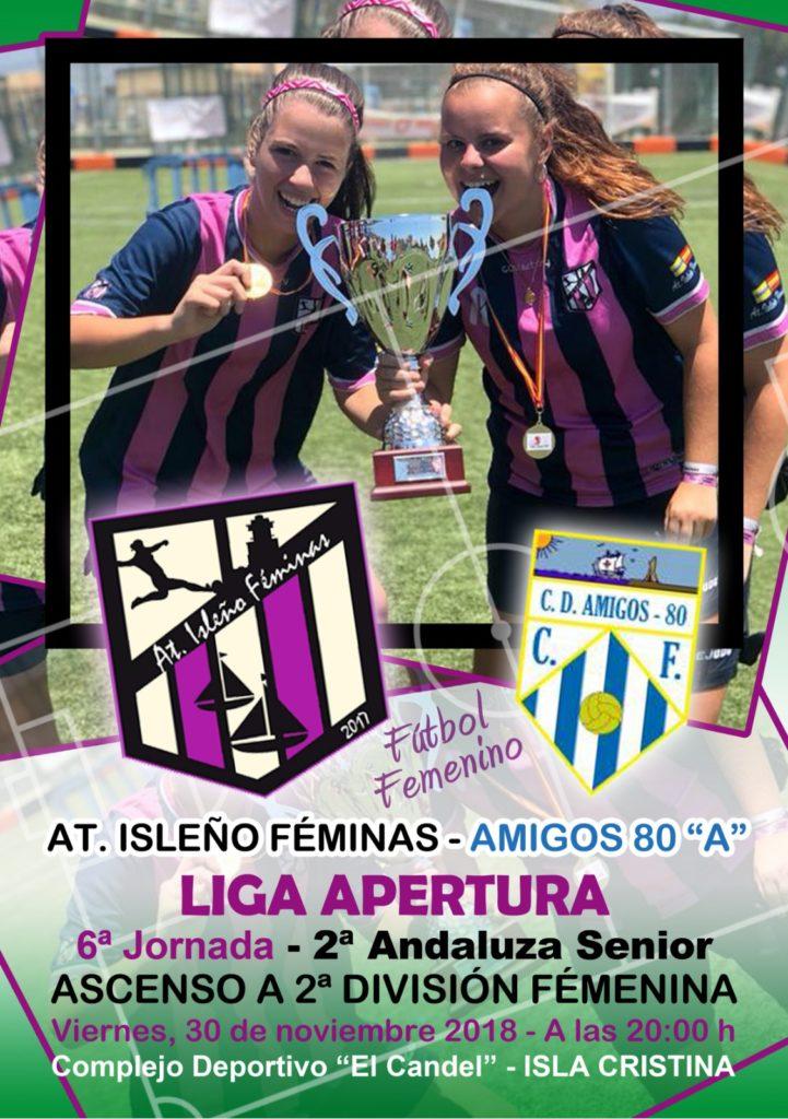 Partidazo de fútbol femenino en Isla Cristina