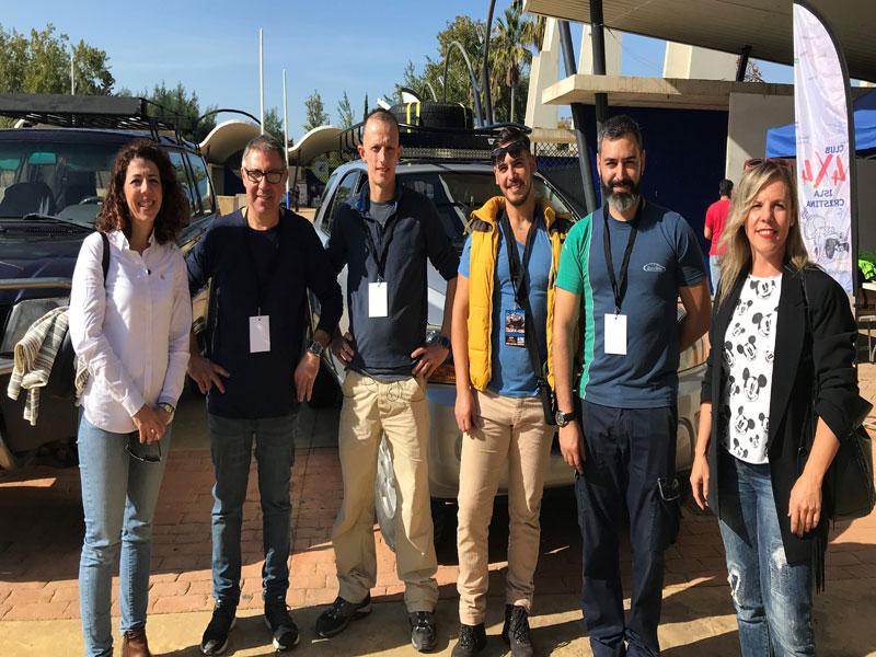 El sábado partió desde Isla Cristina la Ruta 4×4 España-Portugal
