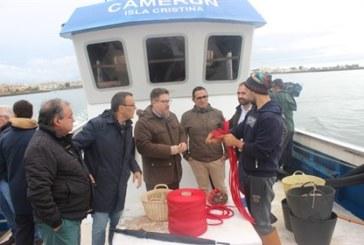 Sánchez Haro anuncia en Isla Cristina campaña promoción de chirla andaluza