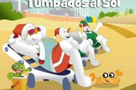 Este domingo la playa de Islantilla celebra el V Concurso de Muñecos de Nieve Tumbados al Sol