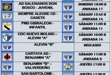 Agenda Futbolera fin de semana Isla Cristina F.C.