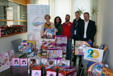 La Campaña Huelva es Solidaria consigue más de 2.000 juguetes para las familias más vulnerables