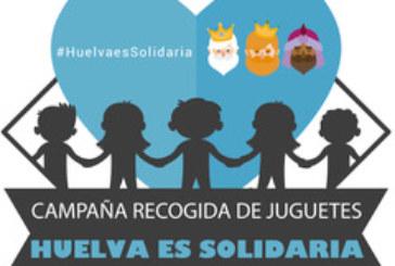 """Arranca una nueva edición de la campaña de recogida de juguetes para familias sin recursos """"Huelva es solidaria"""""""