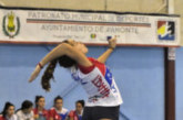 Verónica López, con la Selección Provincial de Voleibol