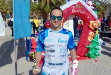 Rubén Gutiérrez debuta en la Temporada de Invierno de Aguas Abiertas con pódium en Alicante