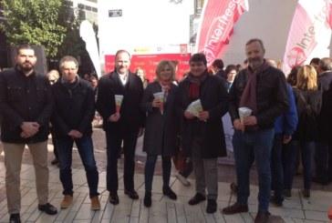 Apoyo a la iniciativa solidaria de Interfresa por tercer año consecutivo con 'Campanadas con fresas'