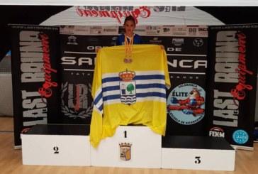 Miguel Pérez González, consigue el oro en el IV Open Nacional Ciudad de Salamanca