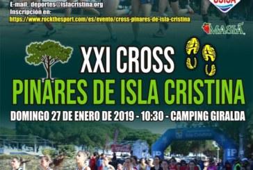 "Abierta las inscripciones para participar en el ""XXI Cross Pinares de Isla Cristina"""