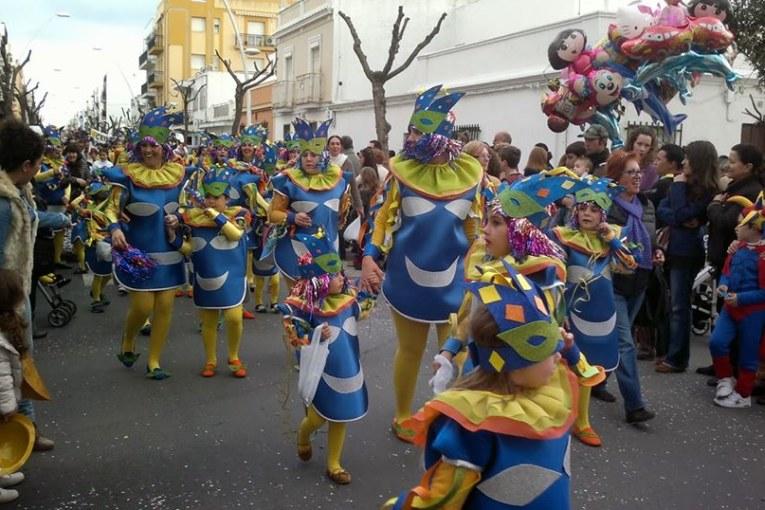 Carnaval en la Programación de Radio Isla Cristina miércoles 9 de enero 2019
