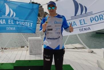 Rubén Gutiérrez, Campeón Máster D (40-44) y Top 5 Absoluto entre más de 250 Nadadores en Denia