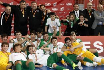 La Andaluza Sub-19 de fútbol sala, Campeona de España