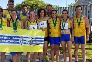 El atletismo isleño en el Andaluz Máster en pista cubierta