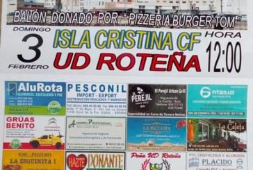 El Isla Cristina visita a la Roteña, farolillo rojo de la categoría