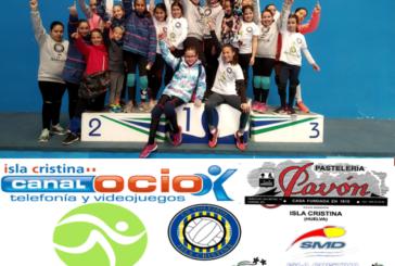 Fin de semana repleto para el Club Voleibol Isla Cristina