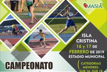 Isla Cristina acoge el Campeonato de Andalucía de Lanzamientos Largos
