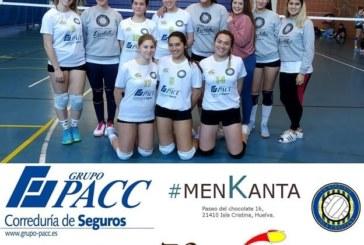Victorias de las Infantiles y juveniles del Club Voleibol Isla Cristina