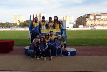 Brillante los atletas isleños en el Campeonato de Andalucía en Isla Cristina