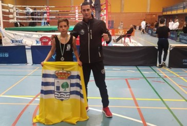 Miguel Pérez (El Guerrero Mushindo) con la Selección Andaluza