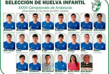 El fútbol isleño presente en el Campeonato Andalucía Infantil y Cadete  de Córdoba
