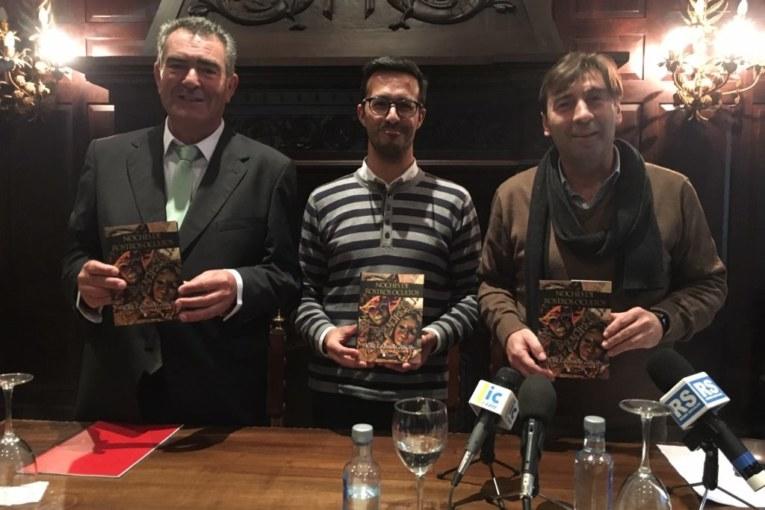 El poeta y letrista isleño José García presenta su nuevo trabajo, 'Noches de Rostros Ocultos'