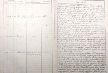 Isla Cristina: Documento del Mes. Libro registro de salida de comunicaciones