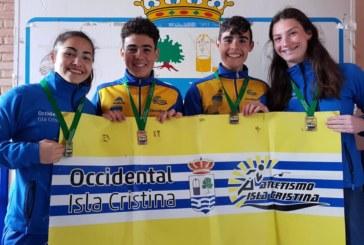 Nuevo éxito de los atletas del Club Atletismo Isla Cristina en un campeonato andaluz
