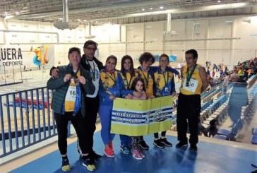 Oro, Plata y Bronce, para el atletismo isleño en el Campeonato de Andalucía Máster