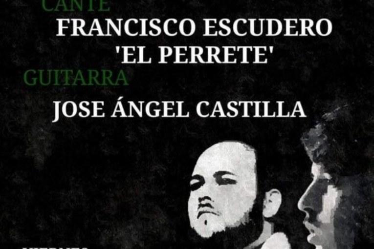 """Actuación de Francisco Escudero """"El Perrete"""" en la Peña Flamenca La Higuerita"""